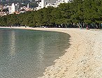 CLICK: Seaside apartments - View to the city of Makarska