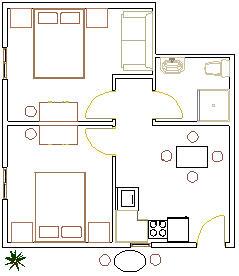 APARTMÁNY ERCEG - MAKARSKA: Apartmán A4 + 1