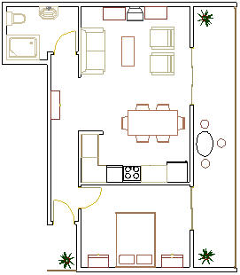 ERCEG APARTMENTS - MAKARSKA: Apartment A2+1